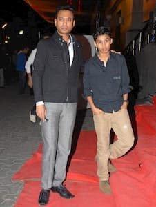 Ayaan Khan and his father