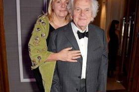 Sophie de Stempel and Ian Holm
