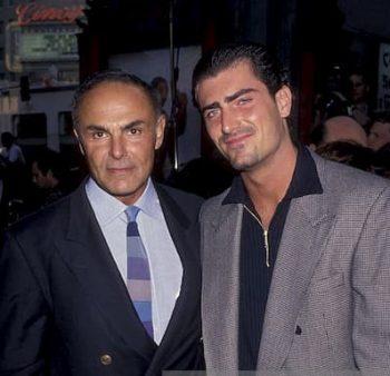 Antonio Saxon and his father