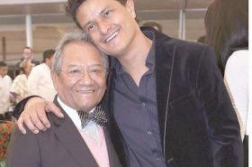 Juan Pablo Manzanero and his father