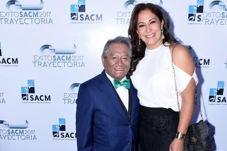 Laura Elena Villa and her late husband Armando