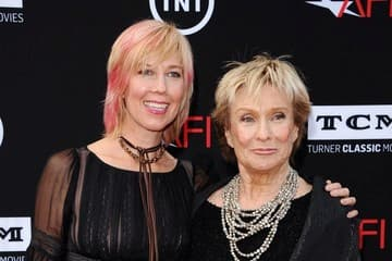 Dinah Englund and her mother